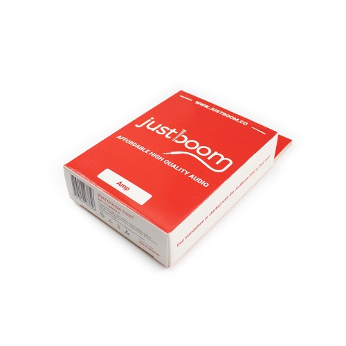 JustBoom Amp - Red Packaging