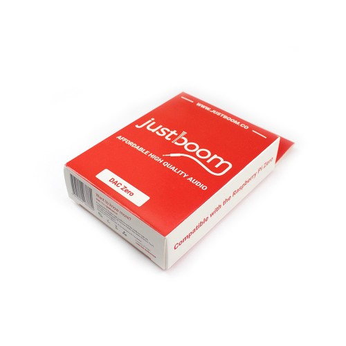 JustBoom DAC Zero - Red Packaging
