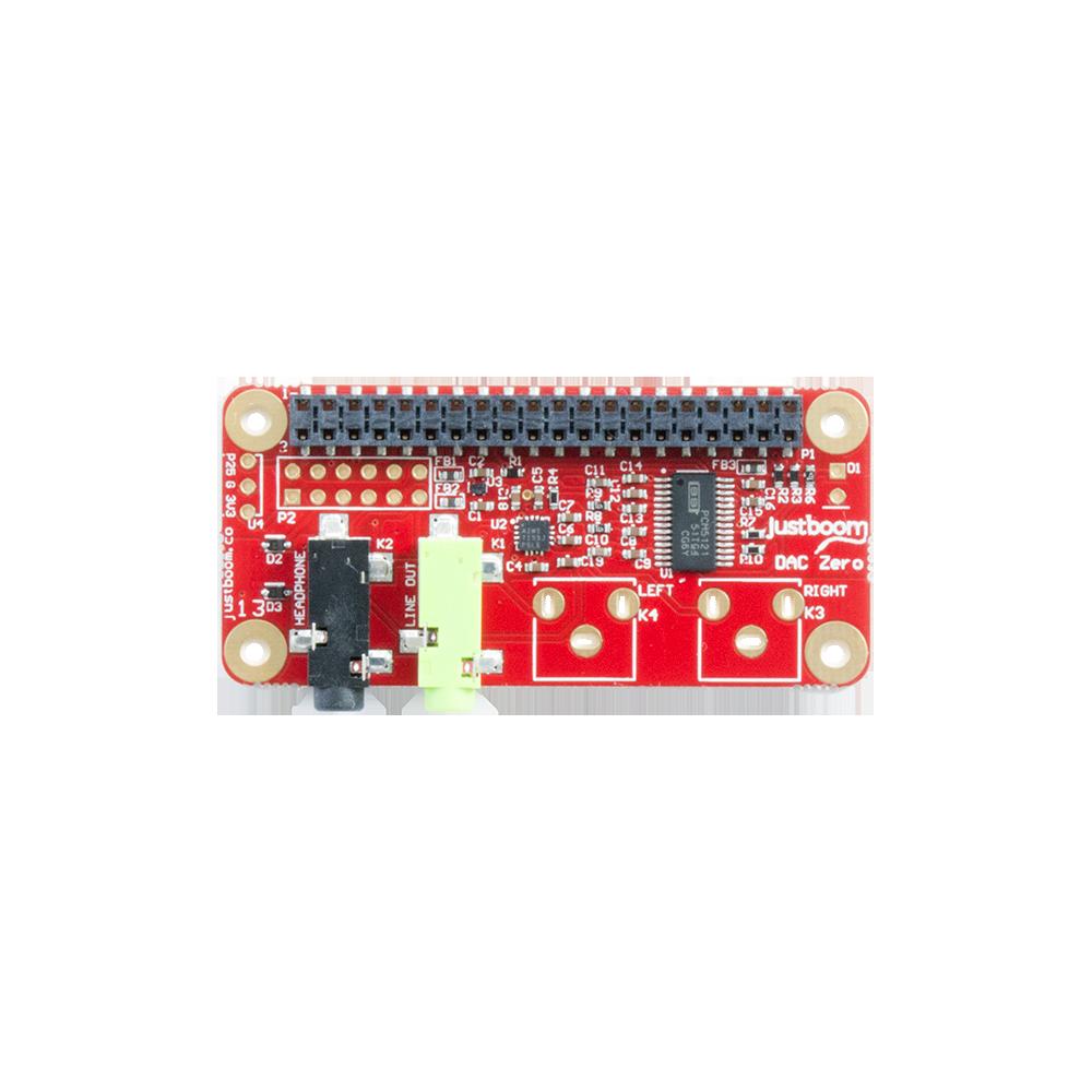 JustBoom Pi Zero DAC board