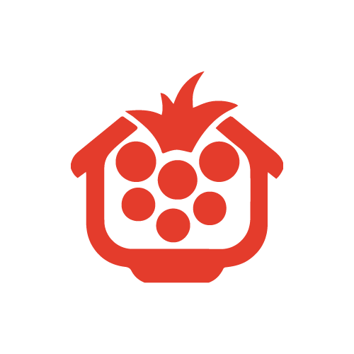 Pi Hut Logo in Red
