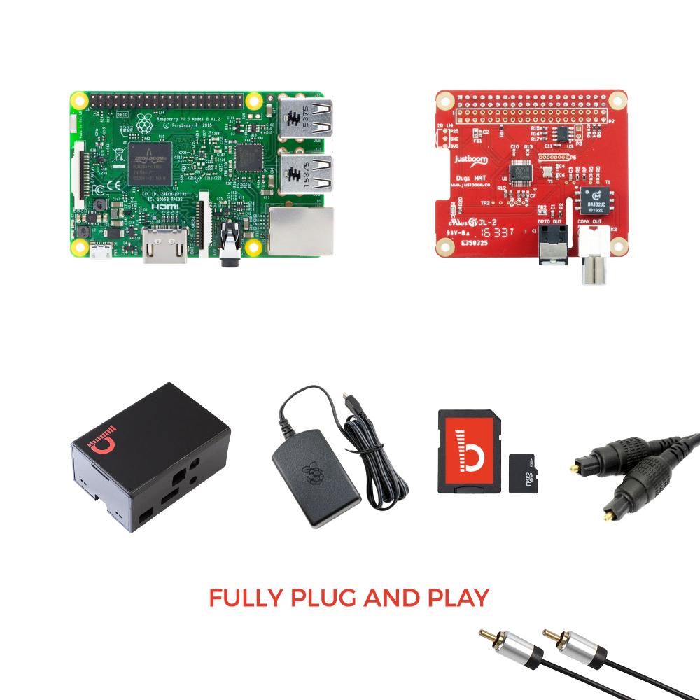 JustBoom Digi HAT Kit for Raspberry Pi