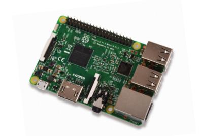 Raspberry Pi 3 board